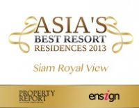 Asia best resort residences 2013