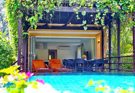 koh chang beach house Villa Peht