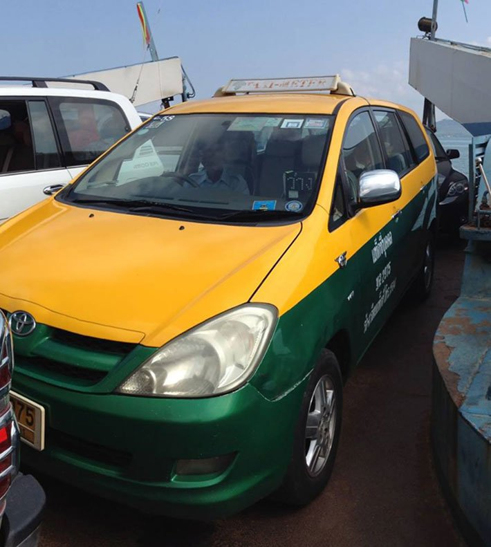 GETTING TO KOH CHANG BY CAR OR TAXI