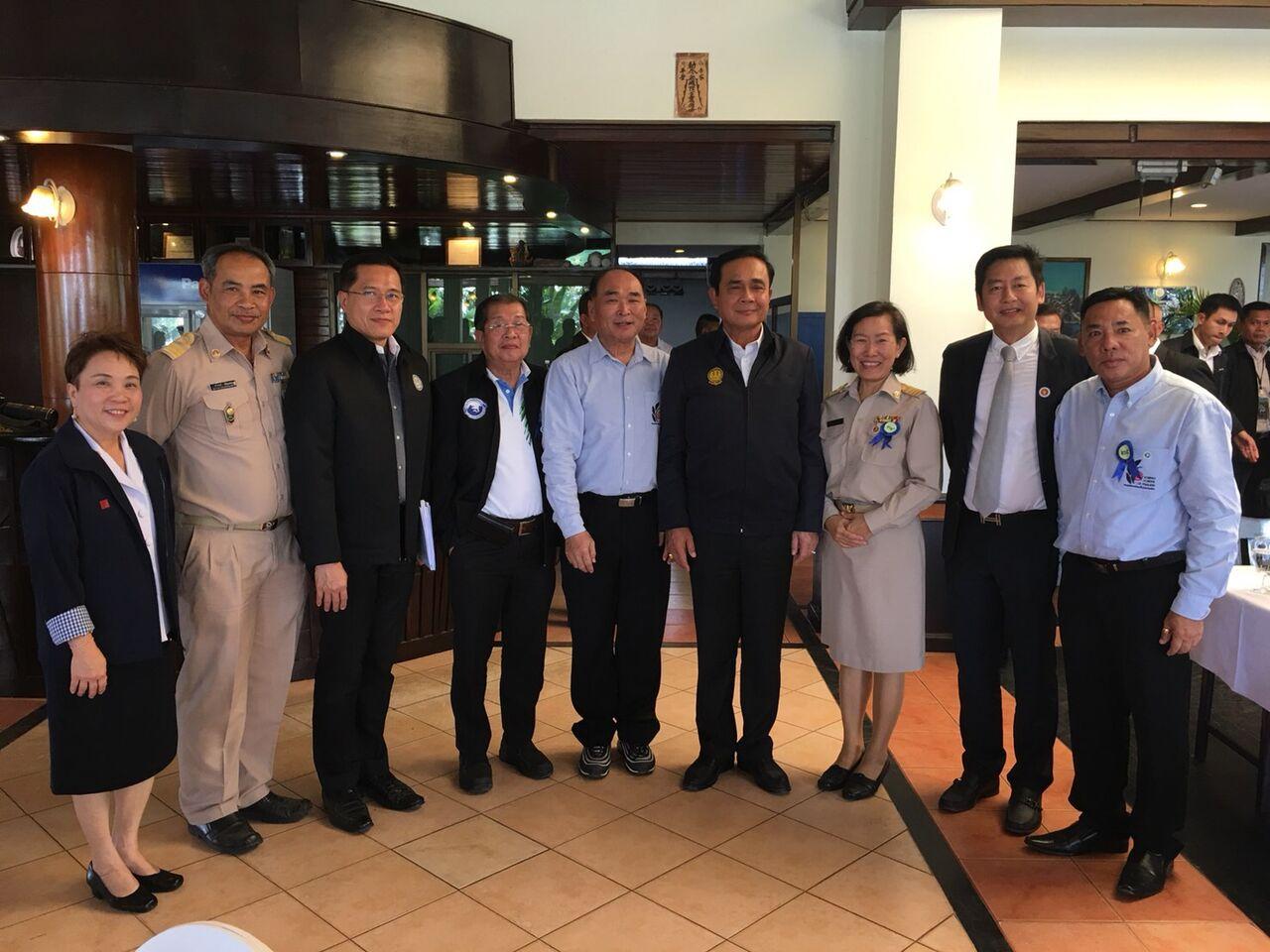 thailand pm at koh chang siam royal view