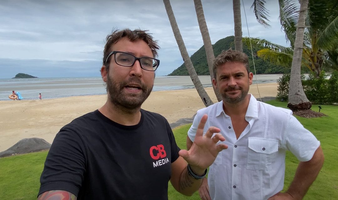 Popular YouTuber falls in love with Blue Haven Bay Villas